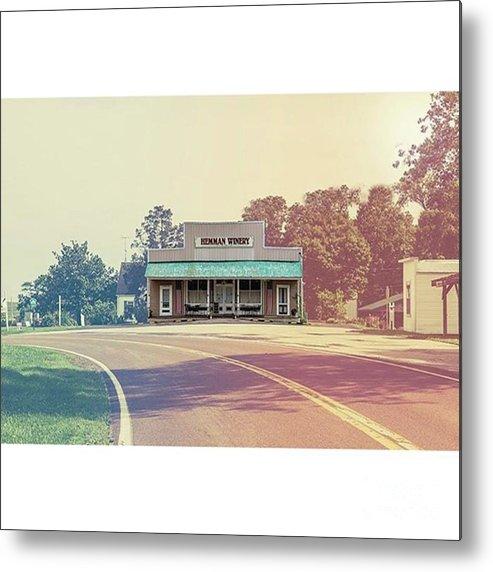 Visitmissouri Metal Print featuring the photograph Hemman Winery Brazeau by Larry Braun