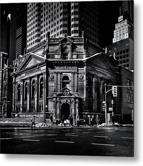 Toronto Metal Print featuring the photograph Hockey Hall Of Fame.  #toronto by Brian Carson
