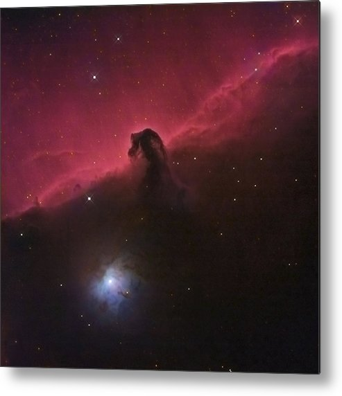 Horsehead Metal Print featuring the photograph Horsehad Nebula II by Charles Warren