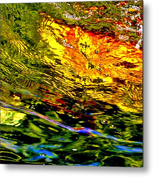 Water Metal Print featuring the photograph In The Flow 3 by Michael Durst