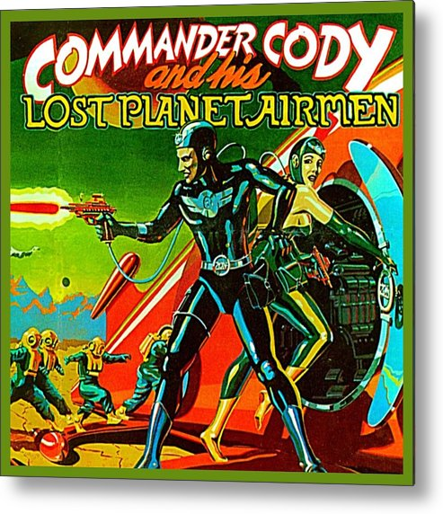 Metal Print featuring the digital art Lost Planet by Commander Cody