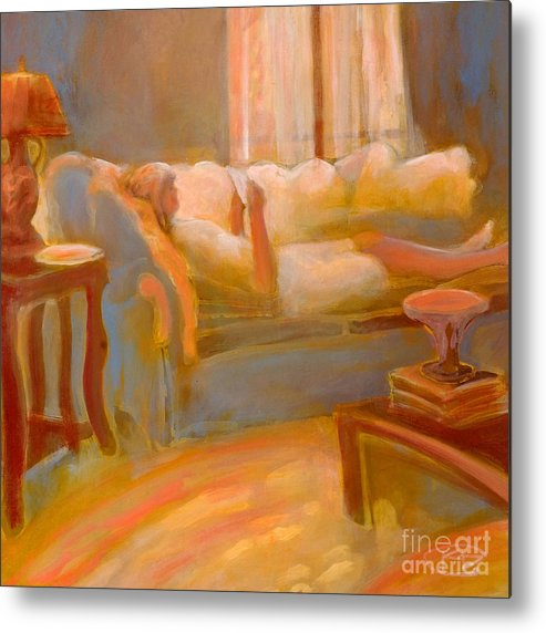 Love Metal Print featuring the painting Love Letter by Kip Decker