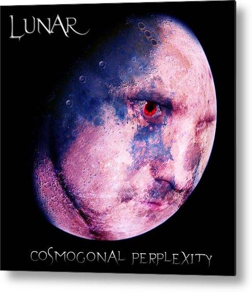 Light Metal Print featuring the digital art Lunar by Ben White