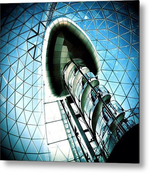 Shop Metal Print featuring the photograph Mall by Mark B