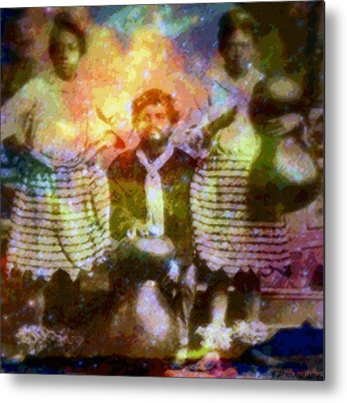 Rainbow Colors Digital Metal Print featuring the photograph Manawa Poe Kaahele by Kenneth Grzesik