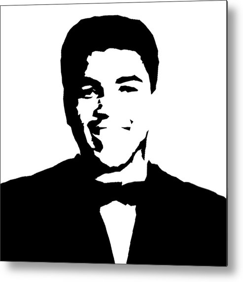 Muhammad Ali Metal Print featuring the painting Muhammad Ali by Art Spectrum