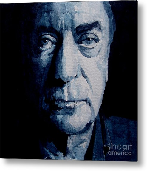 Michael Caine Metal Print featuring the painting My Name Is Michael Caine by Paul Lovering