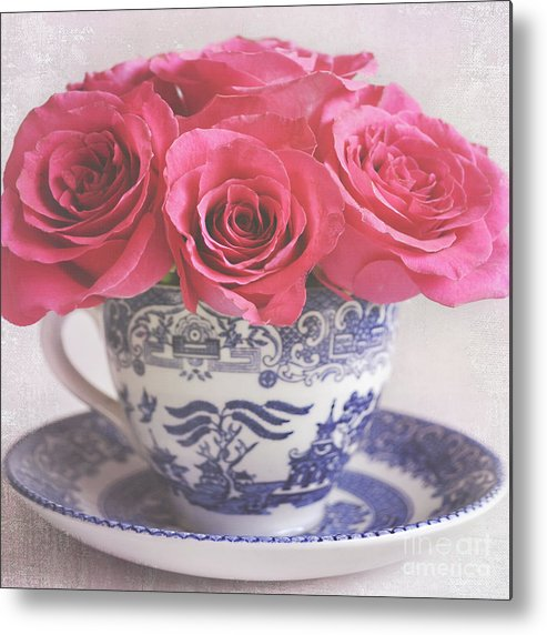 Roses Metal Print featuring the photograph My Sweet Charity by Lyn Randle