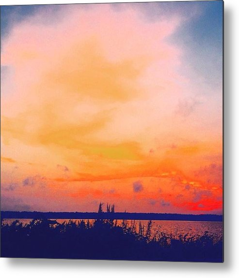 Massachusetts Metal Print featuring the photograph Southcoast Sunset by Kate Arsenault