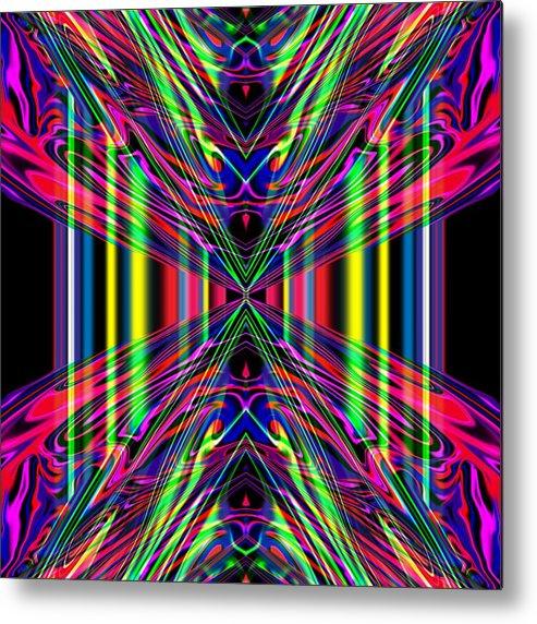Art Metal Print featuring the digital art Nemesis by Blind Ape Art