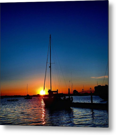Rhode Island Metal Print featuring the photograph New England Sunset by Christopher Duncan