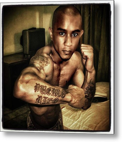 Sepia Metal Print featuring the photograph No Young Man. I Cannot Have You. Your by Mr Photojimsf