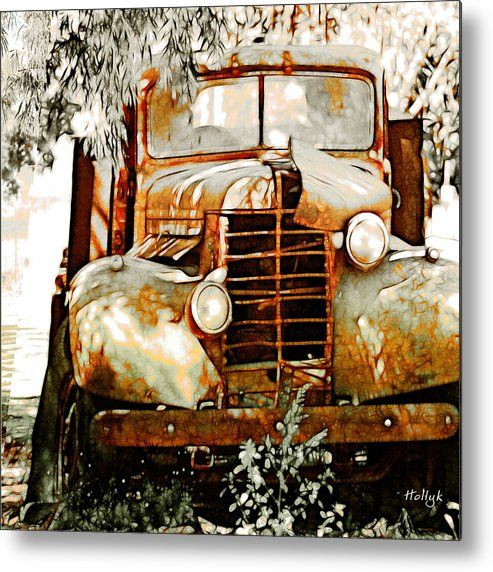 Transportation Metal Print featuring the photograph Old Memories Never Die by Holly Kempe
