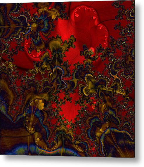 Graphic Art Metal Print featuring the digital art Prodigy by Susan Kinney