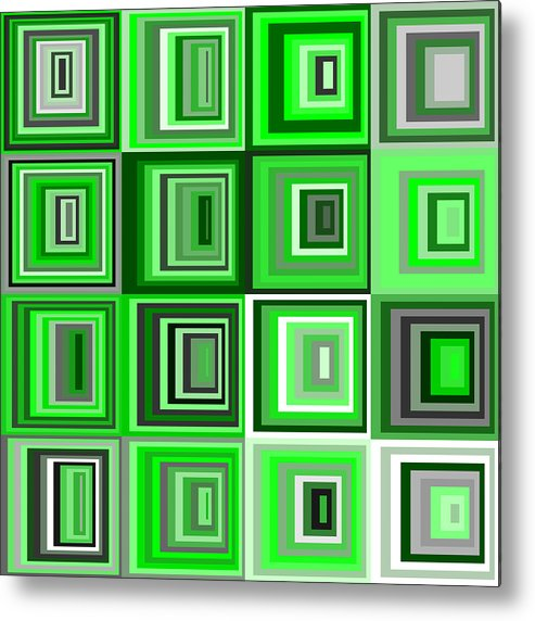 Abstract Metal Print featuring the digital art S.5.12 by Gareth Lewis