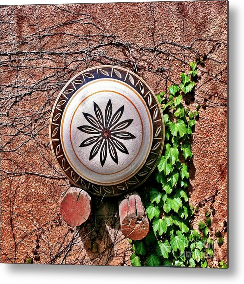 Iphoneography Metal Print featuring the photograph Santa Fe Pottery by Matt Suess