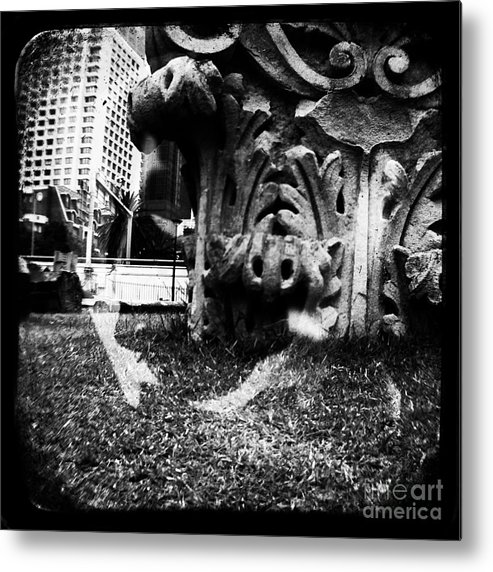 Admarshall Metal Print featuring the photograph Sculpture by AD Marshall