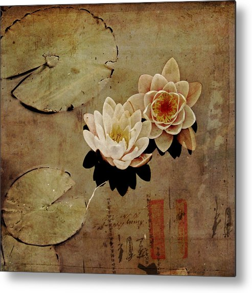 Waterlily Metal Print featuring the photograph Simplicity by Dominic Moriarty