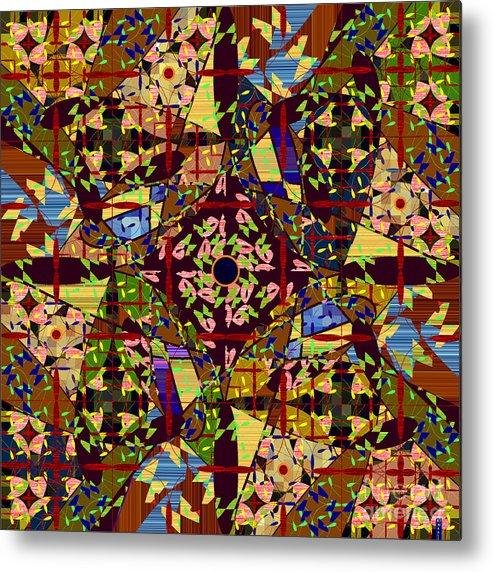 Mkatz Metal Print featuring the digital art Some Harmonies And Tones 83 by MKatz Brandt