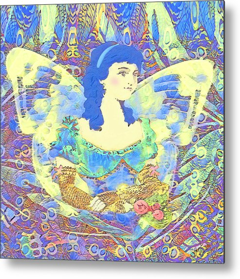 Spring Metal Print featuring the mixed media Spring Dreaming by Amelia Carrie