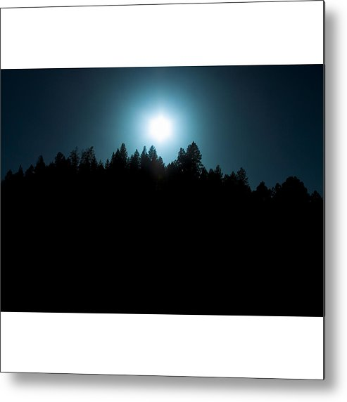 Sun Metal Print featuring the photograph Sun Night by V S