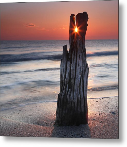Sea Metal Print featuring the photograph Suncrack by Evgeni Dinev