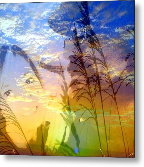 Love Metal Print featuring the photograph Sunrise Partners by Mary Lewis