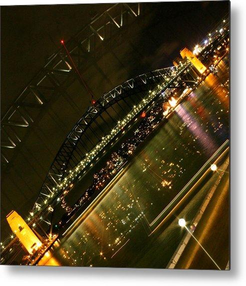 Sydney Metal Print featuring the photograph Sydney Harbour Bridge Bridge by Kirsten Chee