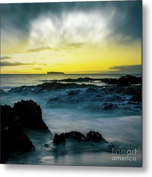 The Infinite Spirit Tranquil Island Of Twilight Metal Print featuring the photograph The Infinite Spirit Tranquil Island Of Twilight Maui Hawaii by Sharon Mau