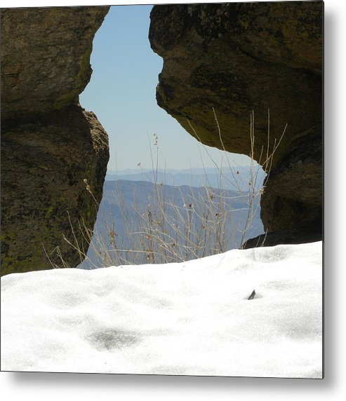 Landscape Metal Print featuring the photograph The Through View by John Wilson