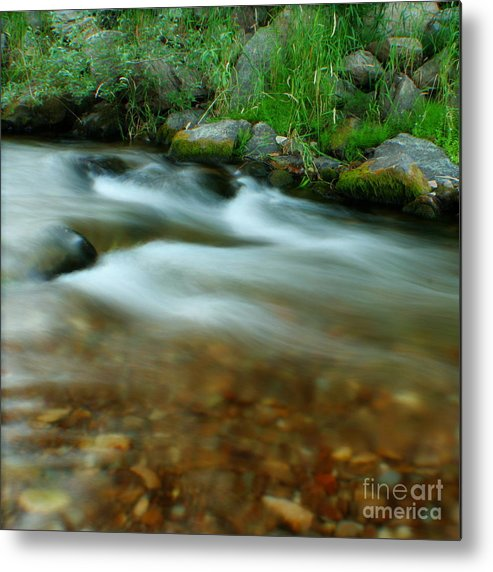 River Metal Print featuring the photograph Velvet River by Idaho Scenic Images Linda Lantzy