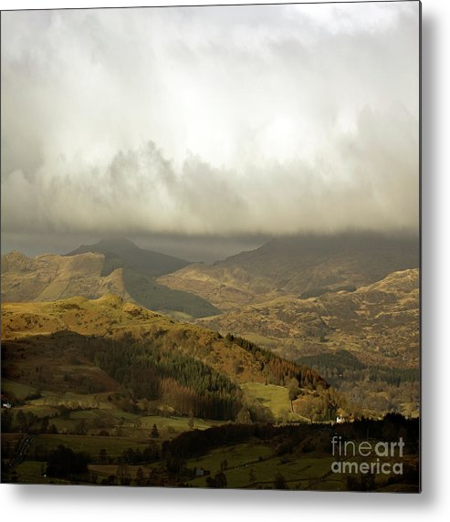 Great Britain Metal Print featuring the photograph Wales by Angel Ciesniarska