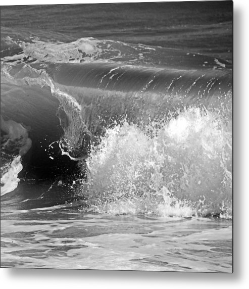 Wave Metal Print featuring the photograph Wave by Charles Harden