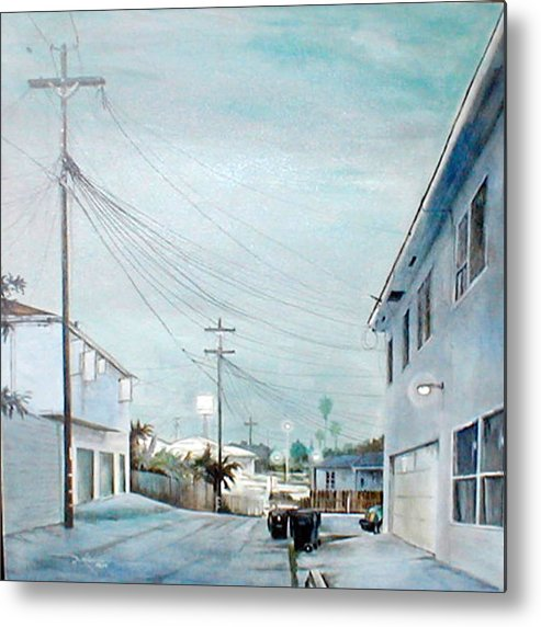 Cityscapes Metal Print featuring the painting White Nights by Duke Windsor