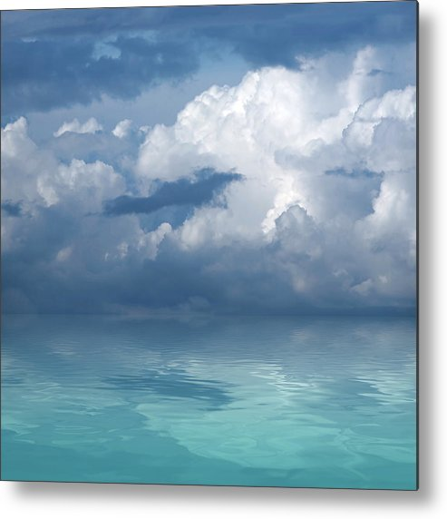 Cloudscape Metal Print featuring the photograph Wild Days by Gill Billington