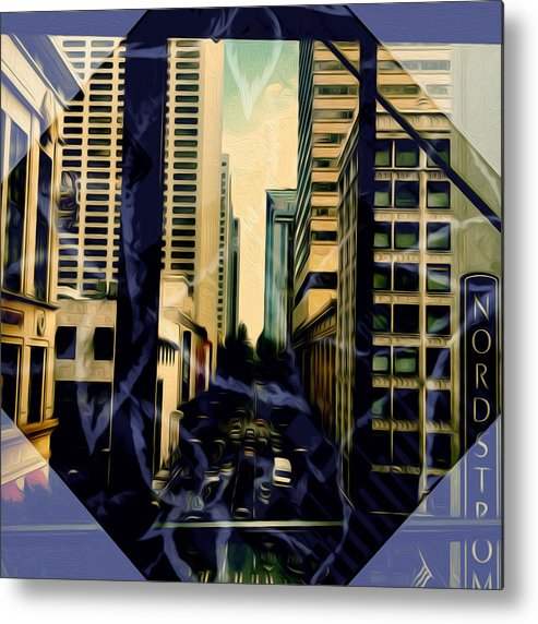 Art Metal Print featuring the photograph Overlook Avenue by Ryan Fox