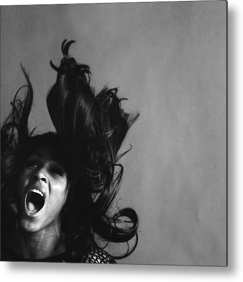 Singer Metal Print featuring the photograph Portrait Of Tina Turner 1 by Jack Robinson