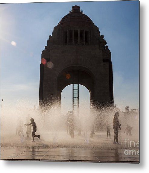 Sky Metal Print featuring the photograph Mexico City by Javier Garcia