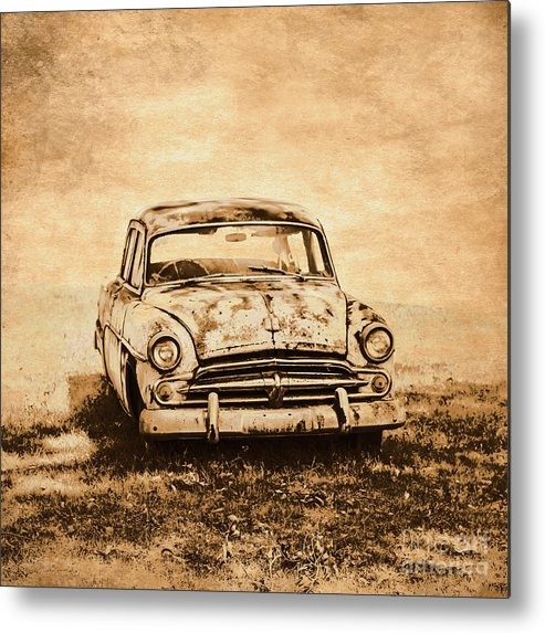 Old Metal Print featuring the photograph Rockabilly Relic by Jorgo Photography - Wall Art Gallery