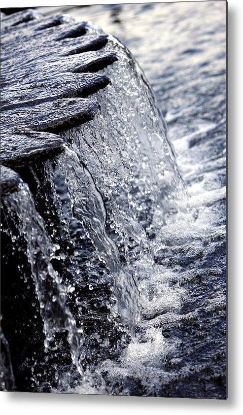 Photo Metal Print featuring the photograph Cascade by Carmo Correia