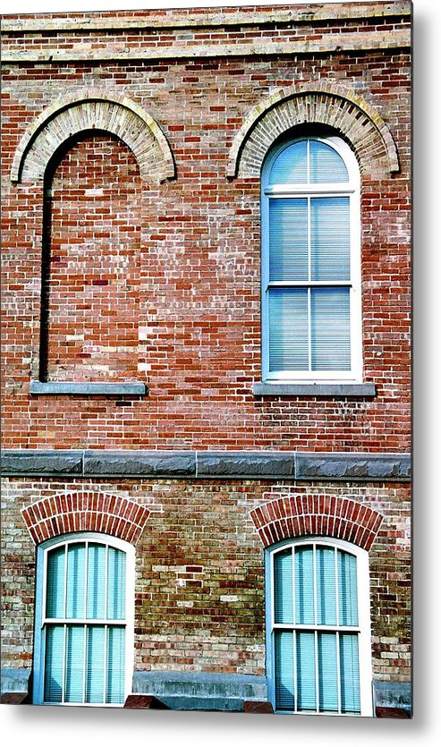 Architecture Metal Print featuring the photograph 3 Quarters by Caroline Clark