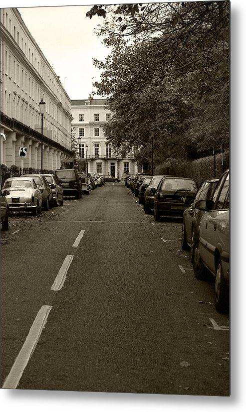 Travel Metal Print featuring the photograph A London Street II by Ayesha Lakes