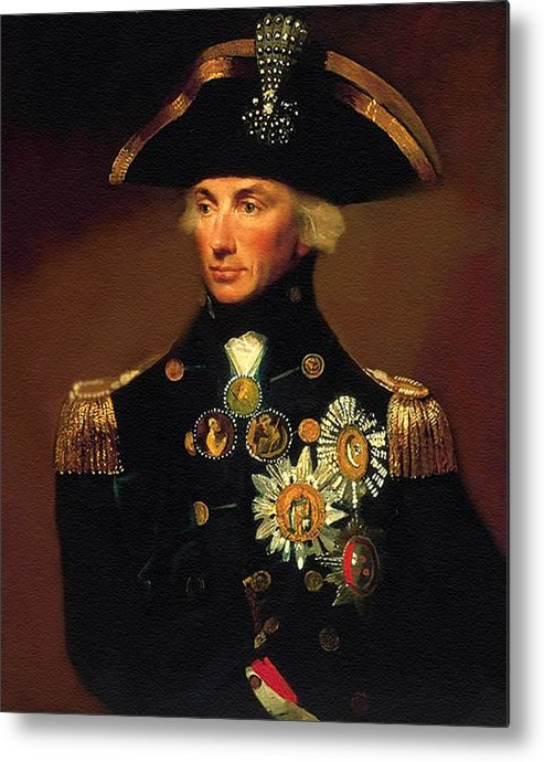 Rear- Admiral Lord Horatio Nelson - 1758-1805 After L F Abbott. P B by Gert J Rheeders