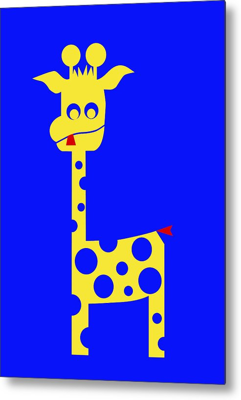 Tall Charlie Metal Print featuring the digital art Tall Charlie by Asbjorn Lonvig