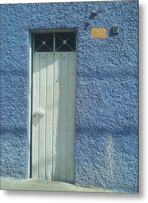 Spanish Door Metal Print featuring the photograph Spanish Door by Robert Cunningham