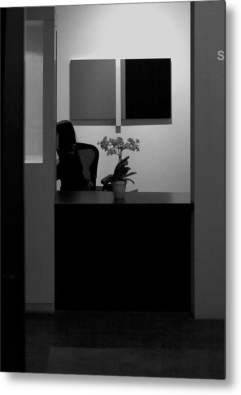 Blocked From View Of You Metal Print featuring the photograph Blocked From View Of You by Viktor Savchenko
