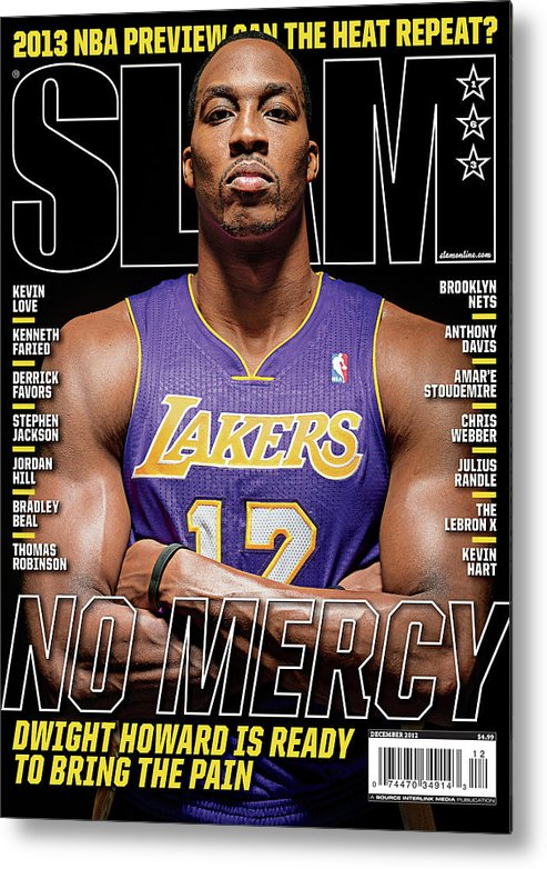 Dwight Howard Metal Print featuring the photograph Dwight Howard: No Mercy SLAM Cover by Atiba Jefferson