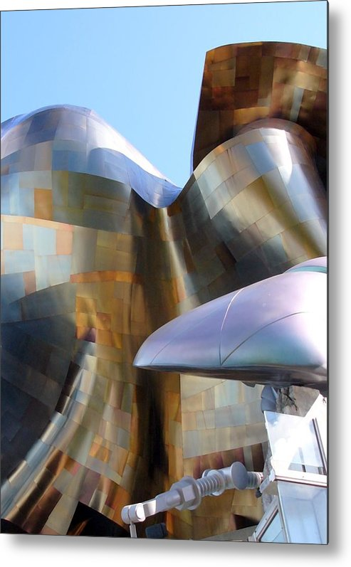 Architect Metal Print featuring the photograph Music Hall Other Side by Kenna Westerman