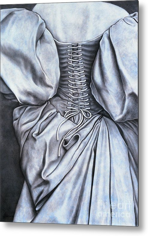 Lawrence Supino Metal Print featuring the painting Allure by Lawrence Supino