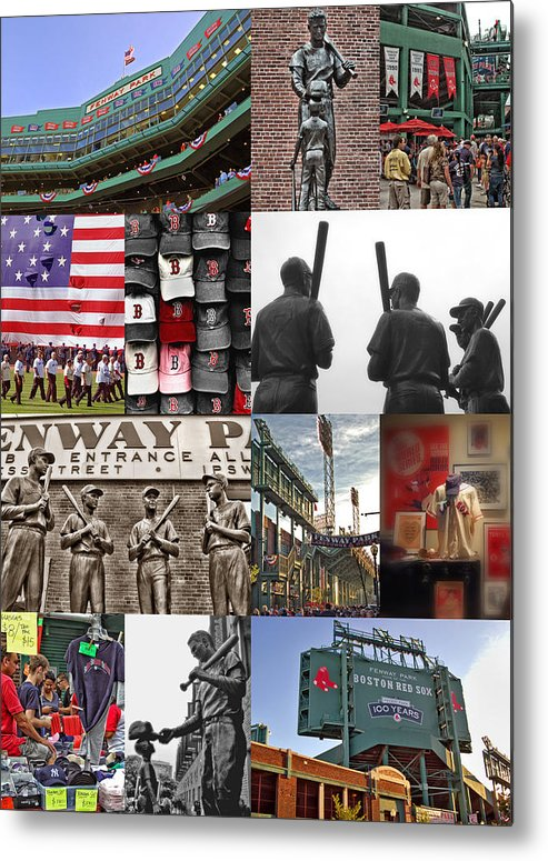 Boston Red Sox Metal Print featuring the photograph Fenway Memories by Joann Vitali
